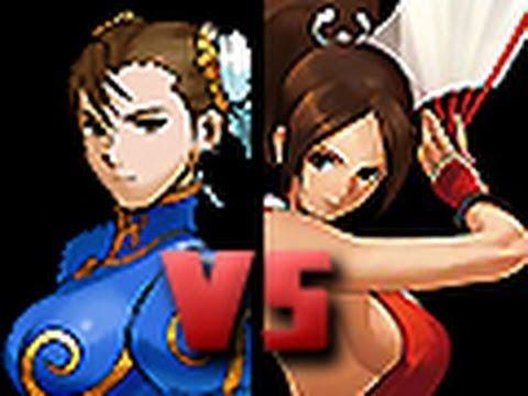 DEATH BATTLE!: Chun-Li VS Mai Shiranui