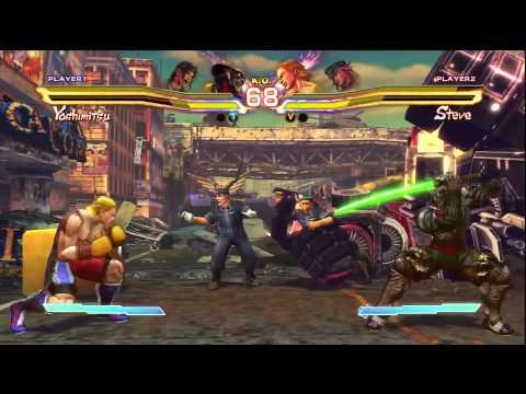 Capcom Gamescom Live Stream – Street Fighter X Tekken Gameplay