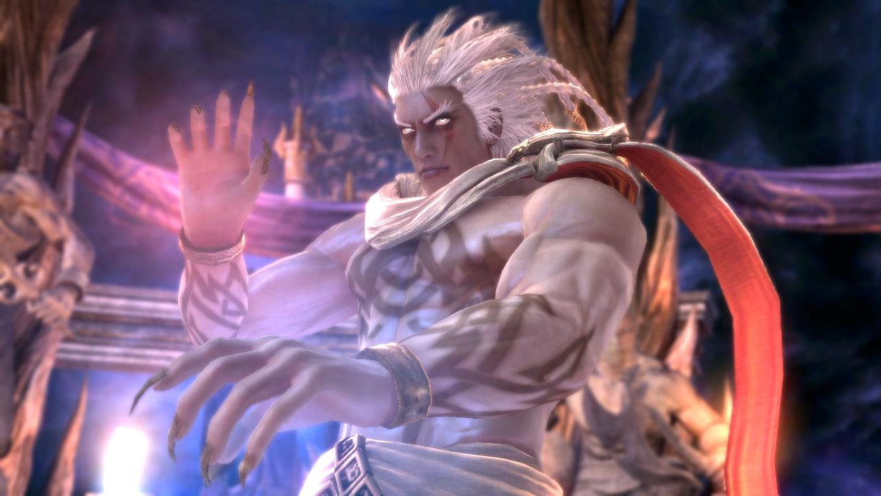 Soul Calibur V – Algol, Edge Master et le style de combat de Devil Jin en action