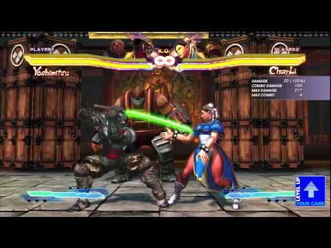 Level Up Your Game – Street Fighter x Tekken – Raven / Yoshimitsu