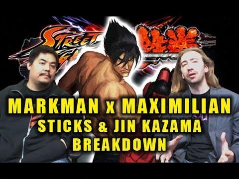 Maximilian & Markman Breakdown for Jin Kazama/New SFxT Sticks