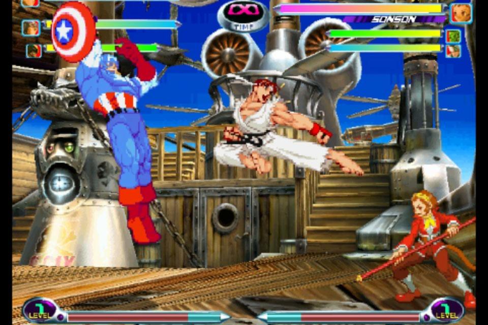 Marvel vs Capcom 2 ressort… sur iOS