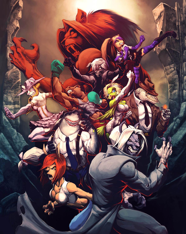 Beast's Fury – Un jeu de baston indépendant inspiré de Bloody Roar
