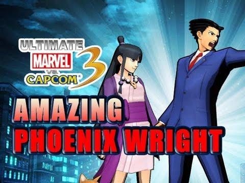 UMVC3: Amazing Phoenix Wright Breakdown