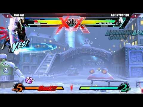 UMVC3 Grand Final Flocker vs AGE NYChrisG