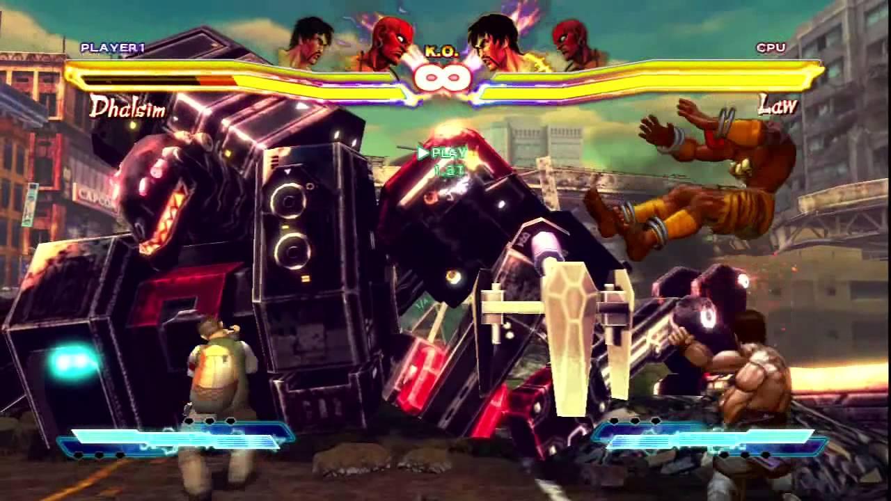 Street Fighter x Tekken 2013: Law Corner infinite