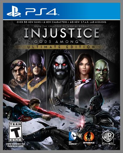 Injustice Gods Among Us – Une ULTIMATE Edition pour PS4, PS3, PS Vita, Xbox 360 et PC