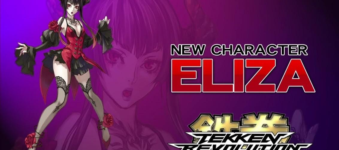 Nouveau perso pour la franchise Tekken : Eliza fait son entrée dans Tekken Revolution