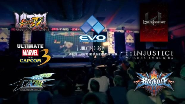 Le lineup de l'EVO 2014 dévoilé !
