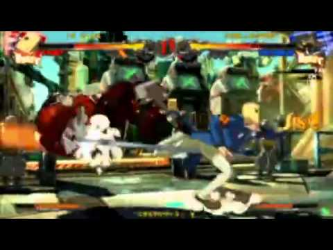 Guilty Gear Xrd – Nemo (Faust) vs FAB (Potemkin)