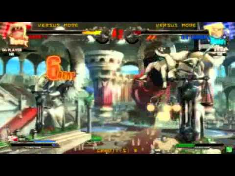 Guilty Gear Xrd – Ogawa (Eddie) vs Machabo (Ky) vs Nemo (Faust)
